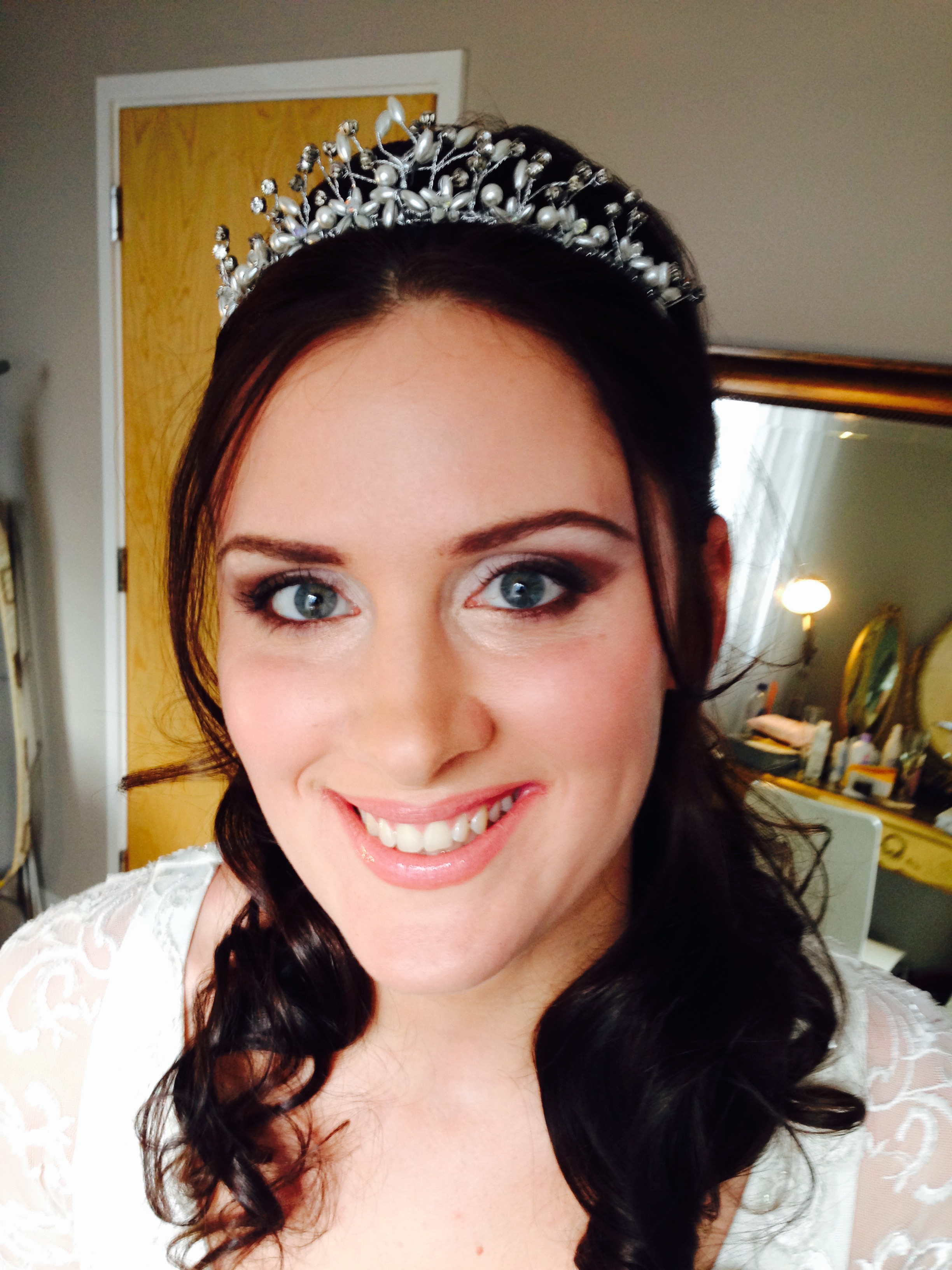 Wedding Hair And Makeup East : Wedding for Victoria, Brighton, East Sussex 14/02/15