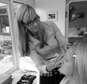 Claire Wallace at work