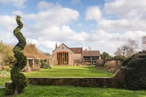 Photo of Chaucer Barn wedding venue and it's grounds