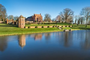 Photo of Oxnead Hall , moat, and gardens