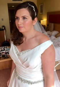 Photo of brunette bride