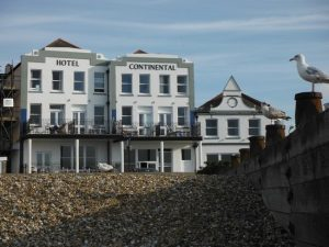 photo of Hotel Continental Whitstable and a view of the beach
